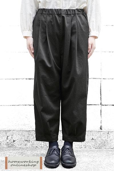 20Sツイル 裾タックパンツ(全2色)