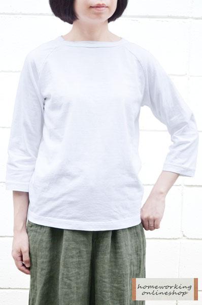 【再入荷しました!】Dana Faneuil ムラ糸7分袖クルーネックプルオーバー(全4色2サイズ)