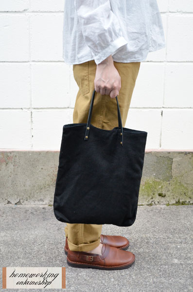 【2点までメール便可】リネンキャンバスコンビ ミニバッグ(全2色)