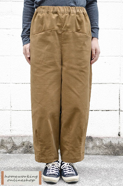 【SALE30%OFF】14ウェールコーデュロイ 裾ダーツパンツ(全3色)