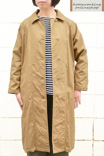 【ポイント3倍】【送料無料】コットンオックスシングルコート(全2色)