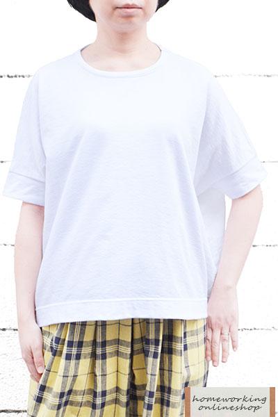 【メール便可1点まで】ソフトウラケワイドプルオーバー(全3色)