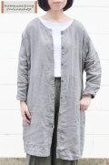 【送料無料】吉美の衣リネンツイル 2WAYワンピース(全2色)