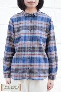 【SALE再値下げ40%OFF】起毛タータンチェックシャツ(グレイ)