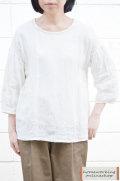 【送料無料】吉美の衣 ギャザープルオーバー(全2色)