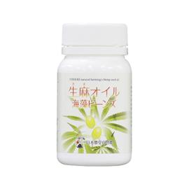 生麻オイル 海藻ビーンズ 【日本豊受自然農】