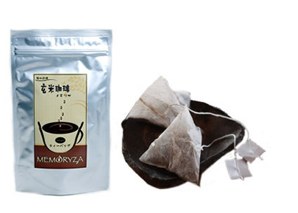 体が芯から温まる 玄米コーヒー メモリザ ティーバッグタイプ