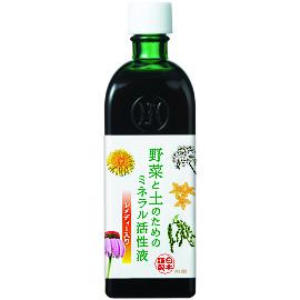 野菜と土のためのマザーチンクチャー ホメオパシージャパン レメディー