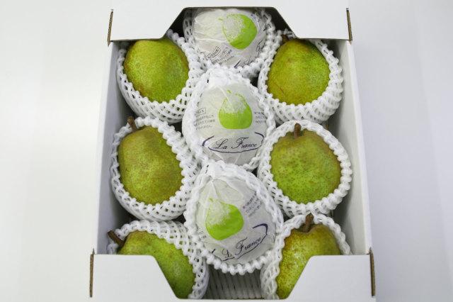 果物の女王山形産『ラ・フランス』3kg(8~10玉) ※11月上旬頃発送