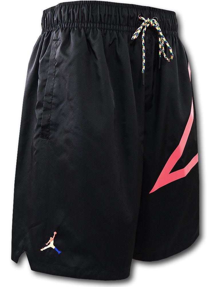 SJ916 メンズ ジョーダン ショーツ Jordan Sport DNA Shorts 黒マルチカラー
