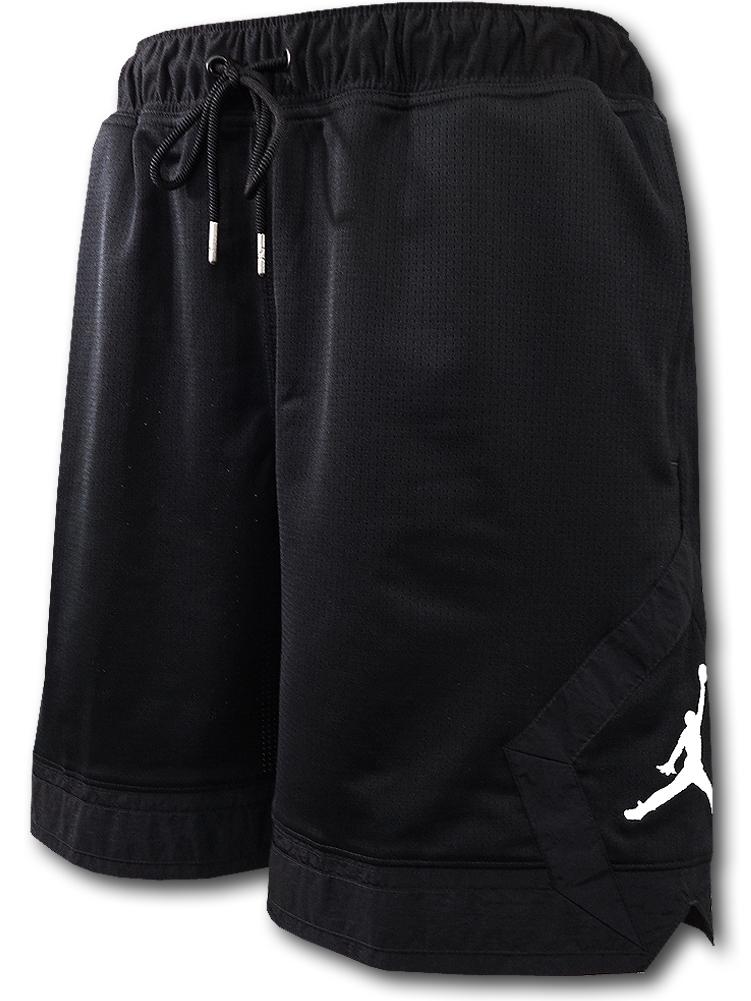 SJ917 メンズ ジョーダン バスケットボール メッシュショーツ Jordan Jumpman Diamond Shorts バスパン 黒白