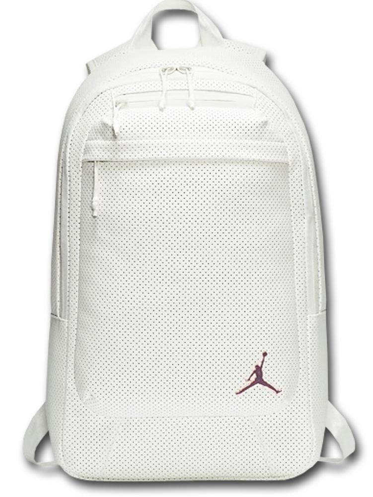 JB994 Air Jordan Legacy Backpack ジョーダン リュックサック 合皮 白ローズゴールド