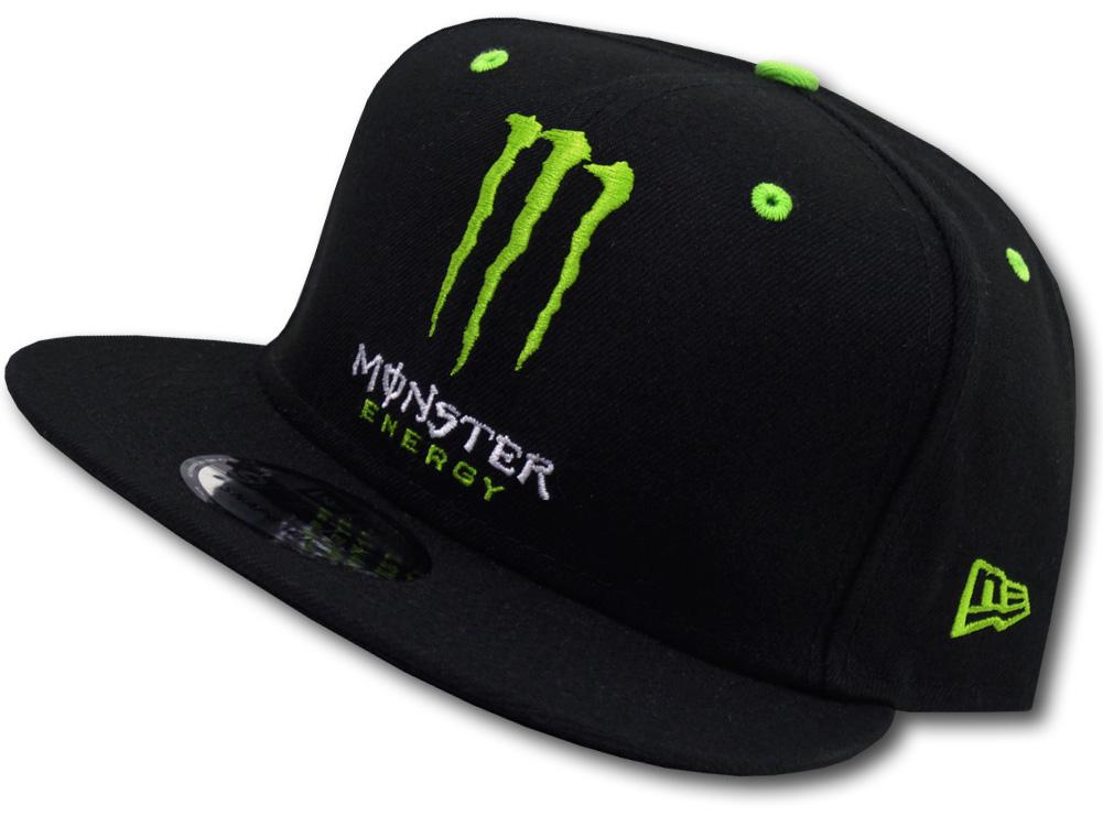 "FB396 New Era Monster Energy NASCAR ""Kurt Busch"" Snapback Cap ニューエラ モンスターエナジー スナップバックキャップ 帽子 黒"