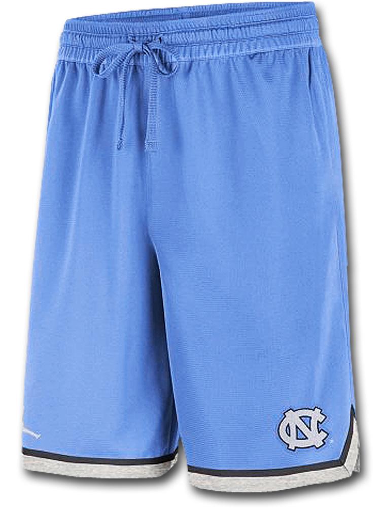 SJ930 メンズ ジョーダン NCAA ノースカロライナ大学 ターヒールズ バスケットボールショーツ North Carolina Tar Heels Shorts カレッジ バスパン 水色白【ルーズフィット】