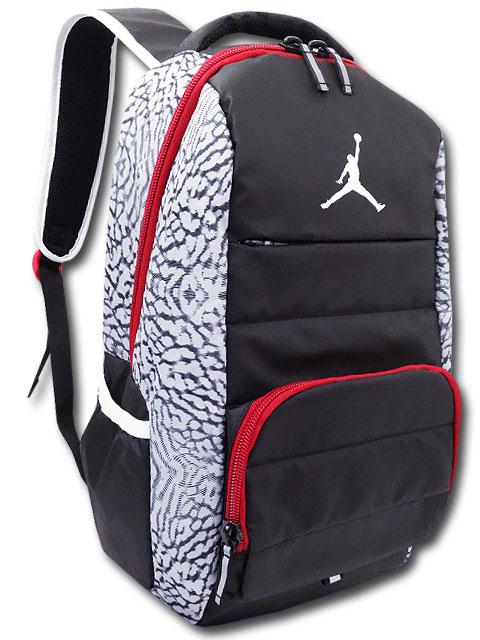 JB123 ジョーダン リュックサック Jordan All World Backpack バックパック 黒灰赤
