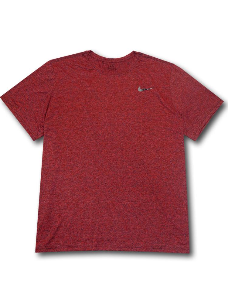 KL675 メンズ ナイキ トレーニング Tシャツ Nike Legend Crossdye Training スポーツウェア ワインレッド黒【ドライフィット】 【メール便対応】