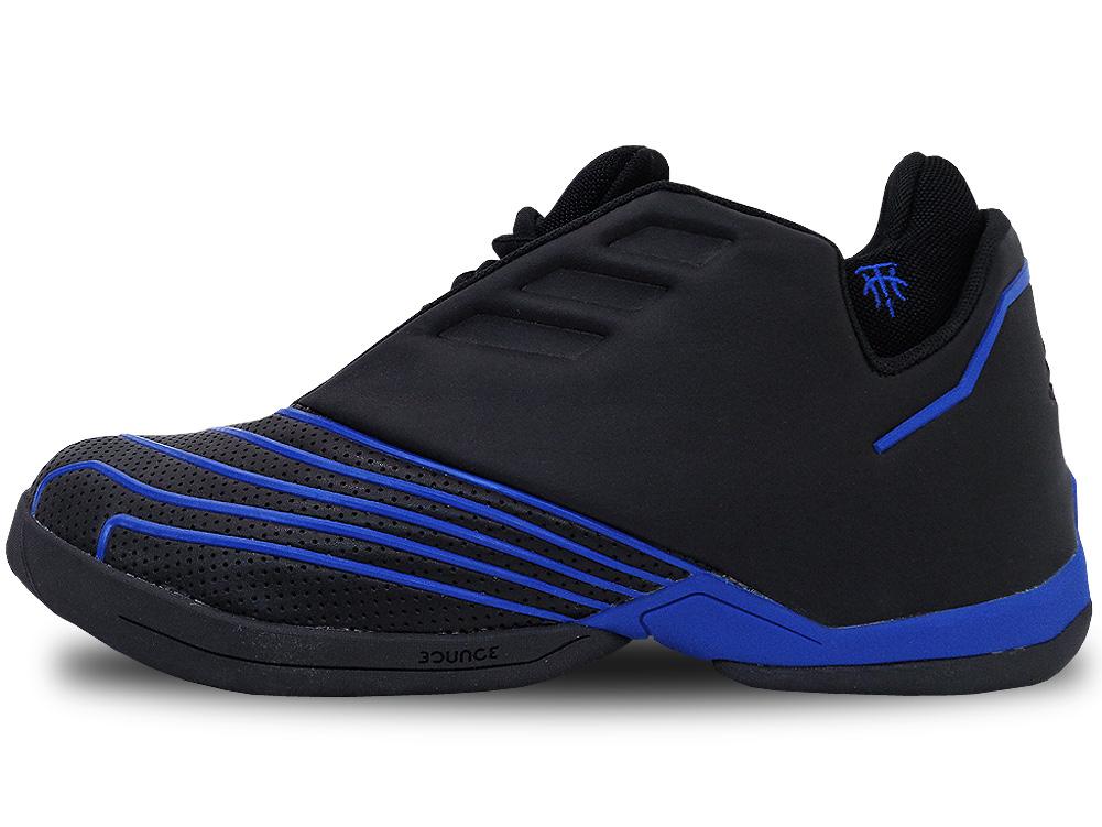 AR303 メンズ adidas T-Mac 2 Restomod アディダス トレイシー・マグレディ バスケットシューズ バッシュ コアブラックロイヤルブルー