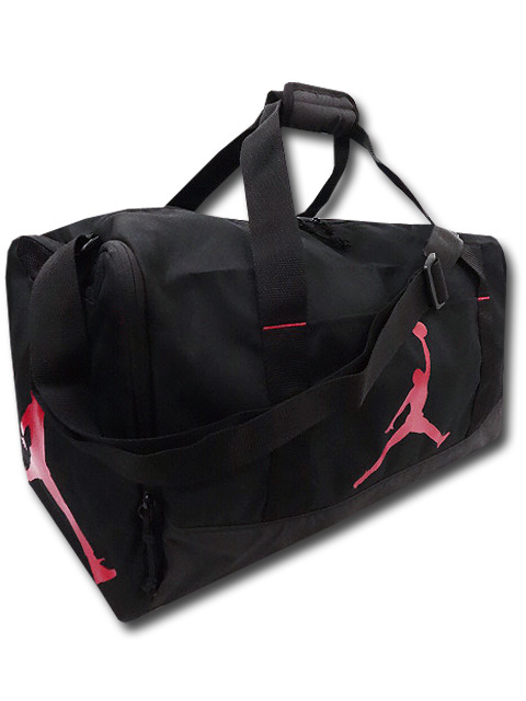 DB079 Jordan Duffel Bag ジョーダン ダッフルバッグ スポーツバッグ 黒赤