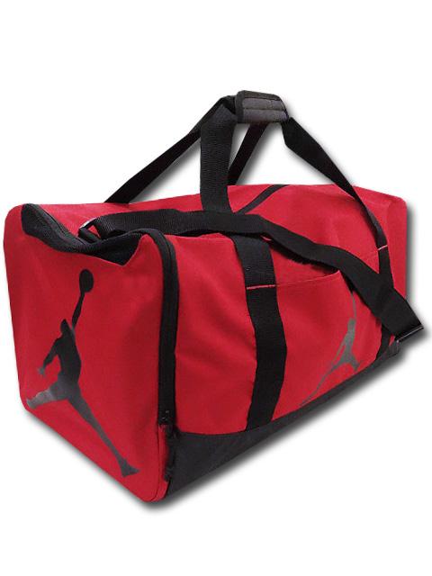 DB128 Jordan Duffel Bag ジョーダン ダッフルバッグ スポーツバッグ 赤黒