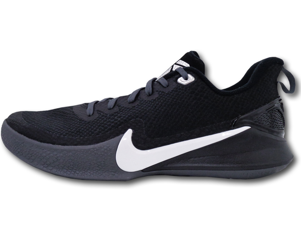 "NS772 メンズ Nike Kobe Mamba Focus TB ナイキ ""コービー・ブライアント"" バスケットシューズ バッシュ 黒白ダークグレー【箱なし】"