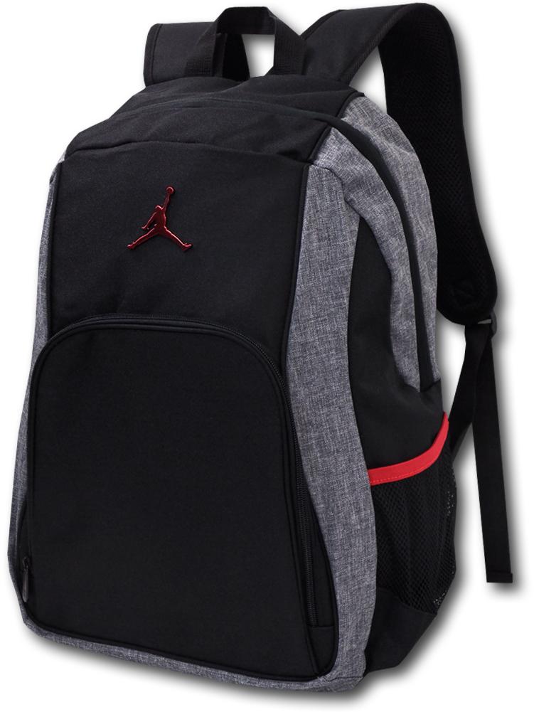 JB076 Jordan Backpack ジョーダン リュックサック バックパック 黒灰赤
