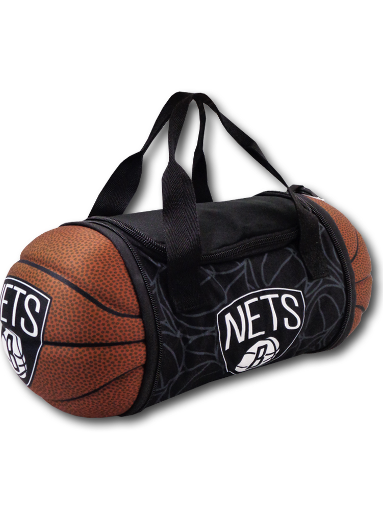 NP810 NBA Collapsible Basketball Lunch Bag Brooklyn Nets ブルックリン・ネッツ 折りたたみランチバッグ 黒