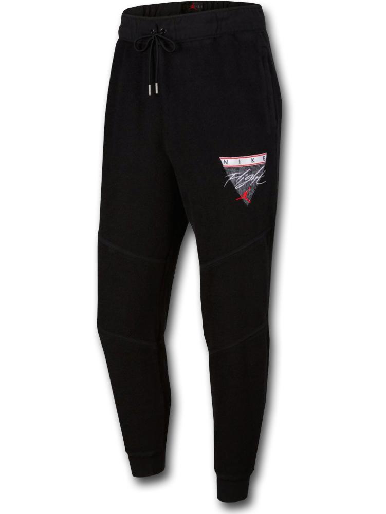 PJ857 メンズ Jordan Flight Fleece Pants ジョーダン タオル地 スウェットパンツ 黒白赤