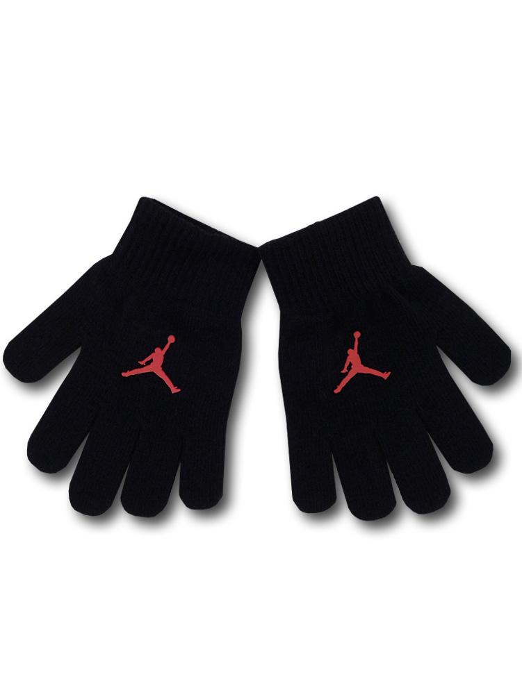KC616 【メール便対応】キッズ Kids Jordan Gloves ジョーダン 手袋 黒赤