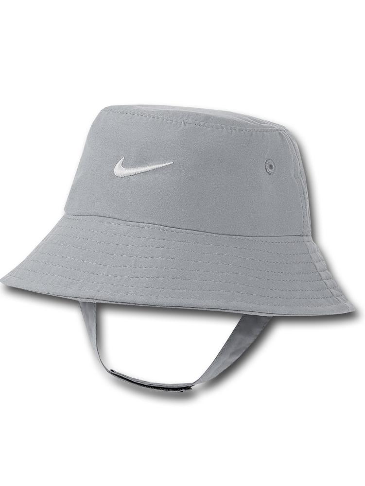 BA630 ベビー ナイキ UVカット バケットハット Nike Bucket Hat Infant UPF40+ 赤ちゃん 帽子 灰白 【メール便対応】