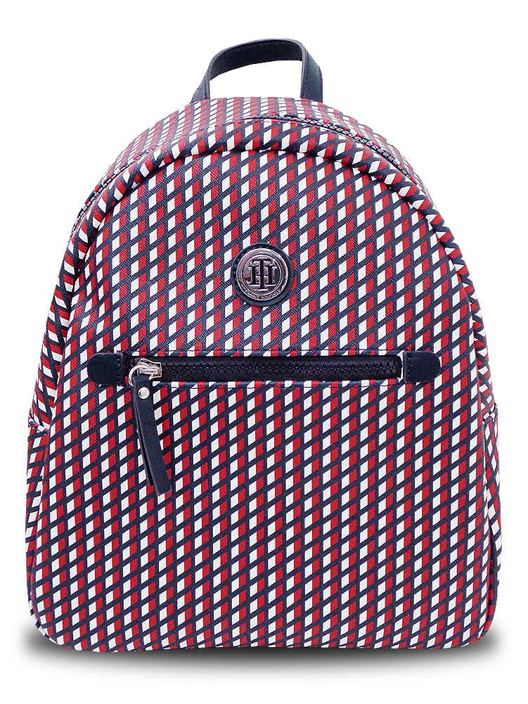 NP826 Tommy Hilfiger Backpack トミー ヒルフィガー リュックサック バックパック 白紺赤