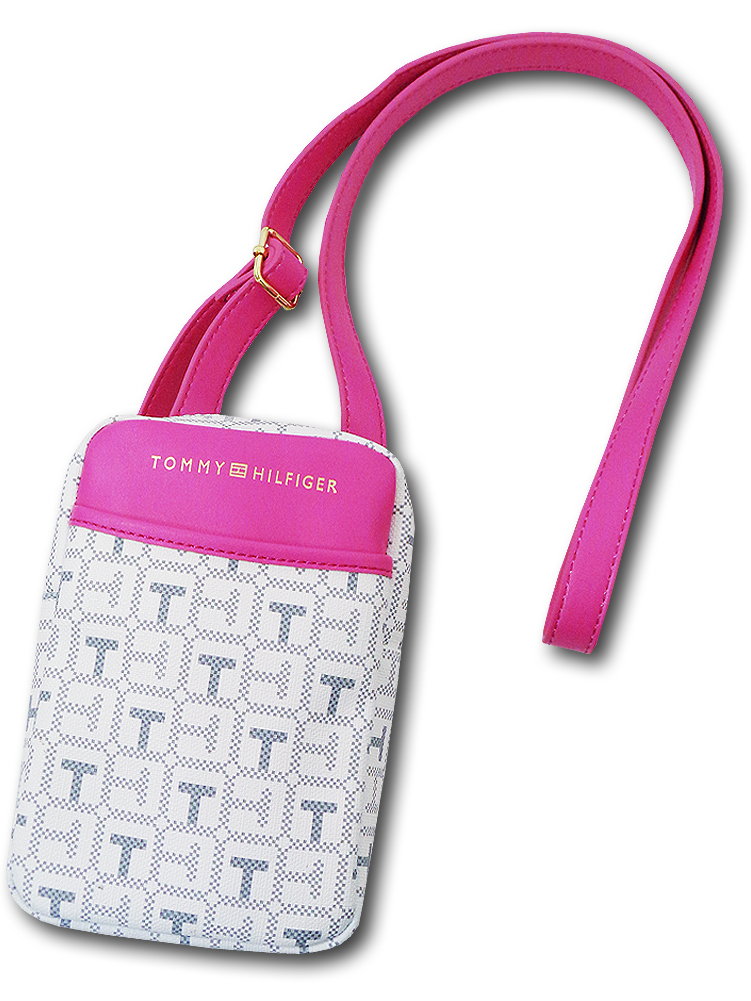 NP829 Tommy Hilfiger Shoulder Bag トミー ヒルフィガー ショルダーバッグ 白ピンク