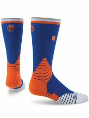 "YK568 【メール便対応】 キッズ Stance NBA New York Knicks Crew Socks スタンス ""ニューヨーク・ニックス"" クルーソックス 青オレンジ【20-23cm】"