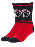 SS090 【メール便対応】 NBA Washington Wizards Crew Socks ワシントン・ウィザーズ クルーソックス  赤白黒