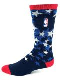 """SS092 【メール便対応】 NBA """"USA"""" Crew Socks バスケットボール クルーソックス"""