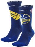 """SS102 【メール便対応】 Nike NBA """"ゴールデンステイト・ウォリアーズ"""" Warriors Elite Crew Socks ナイキ バスケットボール クルーソックス"""