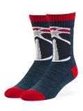 SS097 【メール便対応】 OTS NBA Washington Wizards ワシントン・ウィザーズ 靴下 クルーソックス 紺