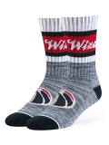 BK276 【メール便対応】  OTS NBA Washington Wizards Crew socks ワシントン・ウィザーズ クルーソックス 紺白赤 Mサイズ
