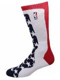 "SS098 【メール便対応】 NBA ""USA"" Basketball Crew Socks バスケットボール クルーソックス"