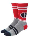 "SS125 【メール便対応】 Stance NBA ""ワシントン・ウィザーズ""City Gym バスケットボール用 クルーソックス Basketball Crew Socks"