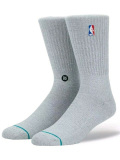 SS129 【メール便対応】 Stance NBA バスケットボール用 クルーソックス Basketball Socks 灰