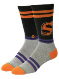 "SS123 【メール便対応】 Stance NBA ""フェニックス・サンズ""City Gym バスケットボール用 クルーソックス Basketball Crew Socks"