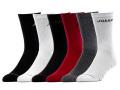 BA576 キッズ 子供用 Jordan Crew Socks ジョーダン クルーソックス 6足セット リトルキッズ 靴下 黒白赤灰 【15cm~17cm】 【メール便対応】