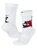 SS133 【メール便対応】 ジョーダン Jumpman Legacy Crew Socks Jordan クルーソックス 白黒赤