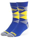 SS142 【メール便対応】 OTS NBA ゴールデンステート・ウォリアーズ Golden State Warriors クルーソックス 青黄色灰