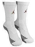 BK334  ジョーダン Jordan Vapor Crew Socks ドライフィット  クルーソックス 靴下 白黒赤 Mサイズ