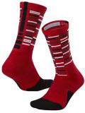 YK611 子供用 Nike Elite Cushioned Crew Socks ナイキ バスケットボール ドライフィット クルーソックス 20~23cm 赤 【メール便対応】