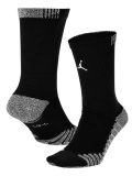 BK346  ジョーダン Jordan Vapor Crew Socks ドライフィット  クルーソックス 靴下 黒 Mサイズ