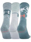 SS173 Under Armour Phenom 3 Pack Crew Socks アンダーアーマー  クルーソックス 3足セット 靴下 【メール便対応】