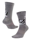 SX49 Jordan Jumpman Legacy Socks ジョーダン クルーソックス ミドル丈 靴下 灰黒白 30cm~33cm【ドライフィット】 【メール便対応】