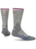 SS186 Stance NBA All Star オールスター Basketball Socks バスケットボール用 クルーソックス 灰ゴールド【メール便対応】